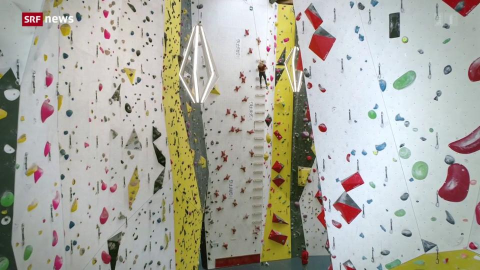 «10 vor 10»-Serie Olympia: Teil 2 –  Klettern
