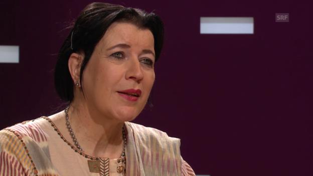 Video «Islamwissenschaftlerin Rifa'at Lenzin über die Aussagen von Manfred Schlapp» abspielen