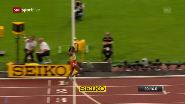 Video «Unglaubliche Ayana: Die Entscheidung über 10'000 m» abspielen
