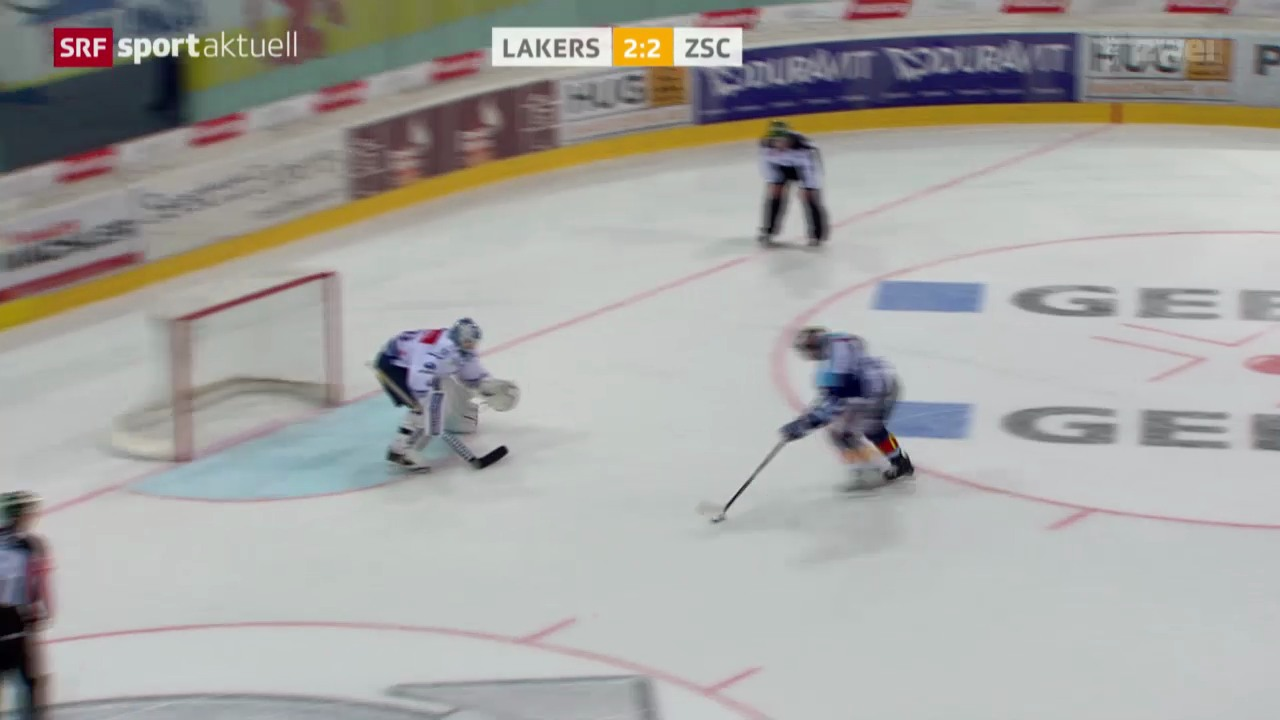 Eishockey NLA: Lakers - ZSC Lions
