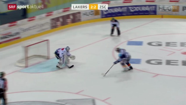 Video «Eishockey NLA: Lakers - ZSC Lions» abspielen