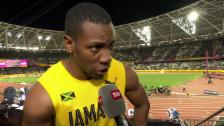 Video «Blake: «Bolt stürzt! Ich hasse es»» abspielen