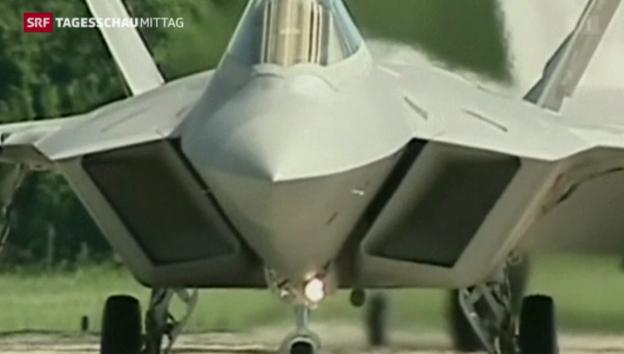 Video «Luftangriffe gegen IS in Syrien» abspielen