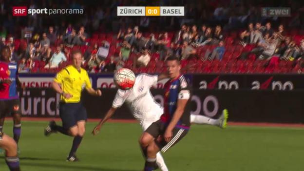 Video «Fussball: Super League, Zürich - Basel» abspielen