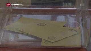Video «Wahlbeobachter attestieren «ungleiche Bedingungen»» abspielen