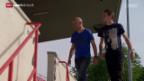 Video «Fussball: Vater Dario und Sohn Luca Zuffi» abspielen
