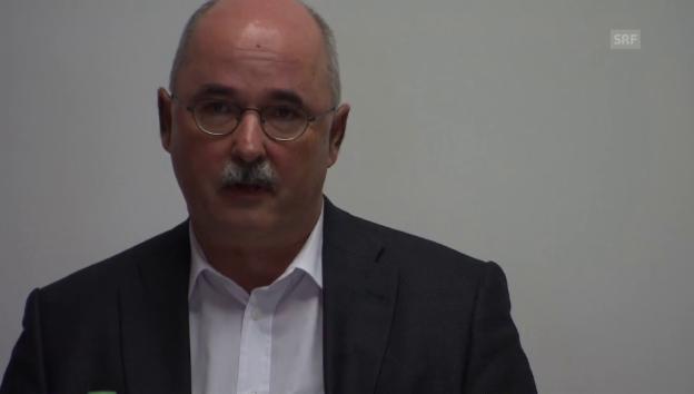Video «Thomas Manhart, Leiter Justizvollzug, zum Suizid.» abspielen
