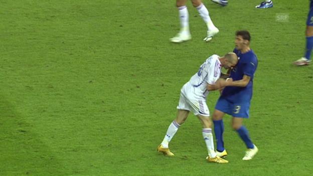 Video «WM-Final 2006 Frankreich - Italien» abspielen