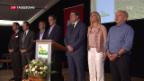 Video «Delegiertenversammlung der SVP in Les Bugnenets NE» abspielen