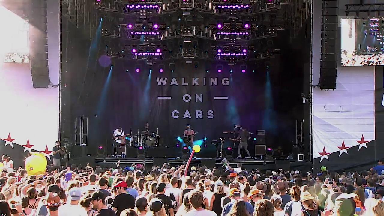 Walking On Cars - «Speeding Cars» Open Air Gampel