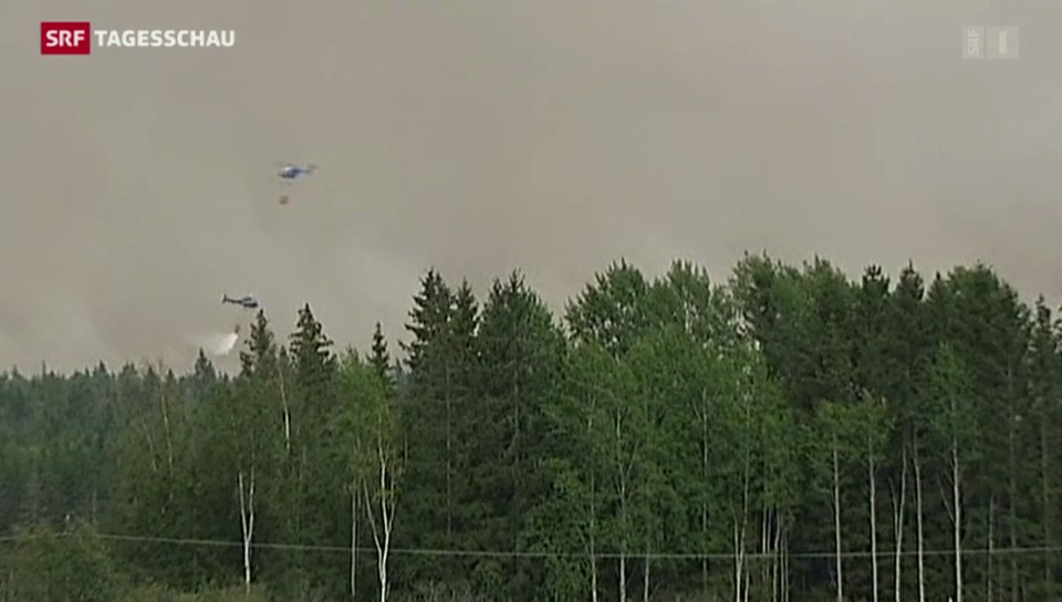 Feuerinferno in Schweden
