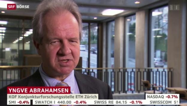 Video «SRF Börse vom 09.01.2015» abspielen