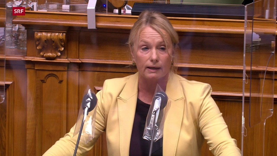 Elisabeth Schneider-Schneiter (CVP/BL): «Mehr Mittel sollen kurzfristig für humanitäre Hilfe eingesetzt werden»