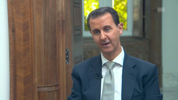 Video «Assad im Interview» abspielen