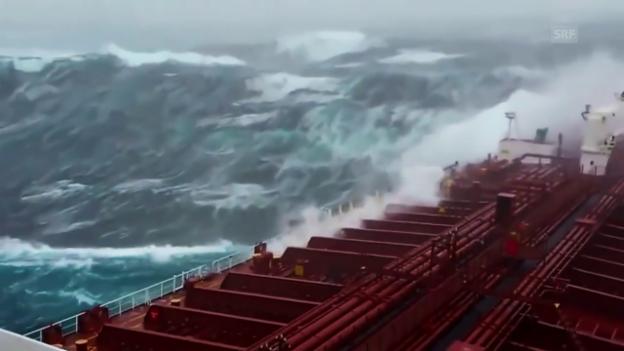 Video «Die Macht der Monsterwellen» abspielen