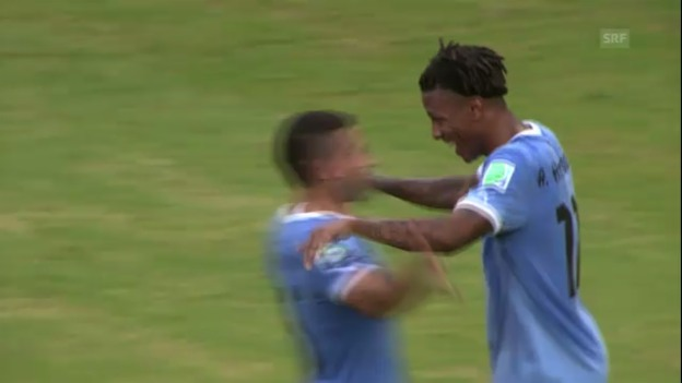 Video «Highlights Uruguay - Tahiti (unkommentiert)» abspielen
