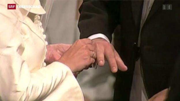 Video «CVP gibt in Sachen «Heiratsstrafe» nicht auf» abspielen