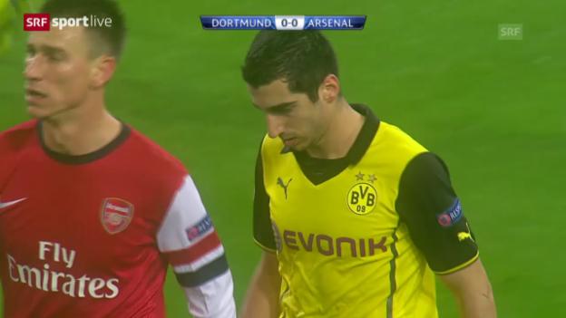Video «Fussball: Dortmund - Arsenal» abspielen