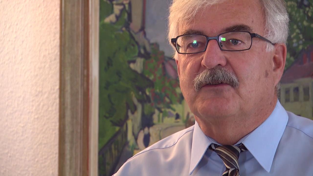 Marcel Guignard, Stadtpräsident Aarau, über «seine» Kaserne