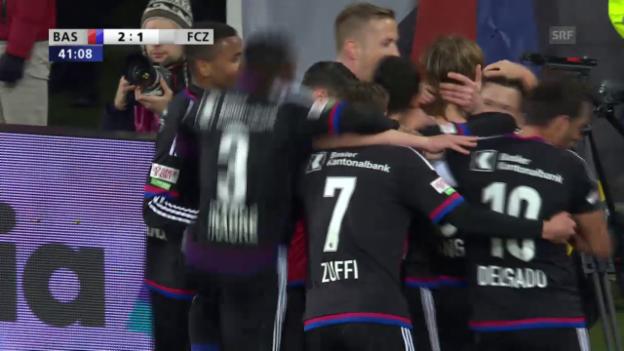 Video «Die Tore bei Basel-Zürich» abspielen