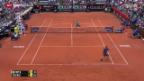 Video «Tennis: Rom-Viertelfinal Federer - Berdych» abspielen