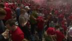 Video «Fussballfest mit Nebengeräuschen» abspielen