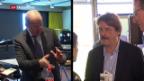 Video «Auswirkung auf den Schweizer Arbeitsmarkt – zwei Ansichten» abspielen