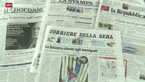 Video «Konsequenzen für die Beziehung Schweiz-EU» abspielen