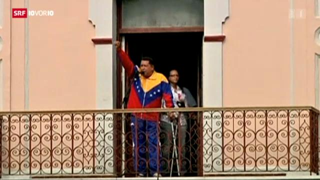 Chavez ist schwer krank