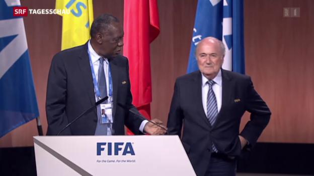 Video «Neue Entwicklung im Fall Fifa» abspielen