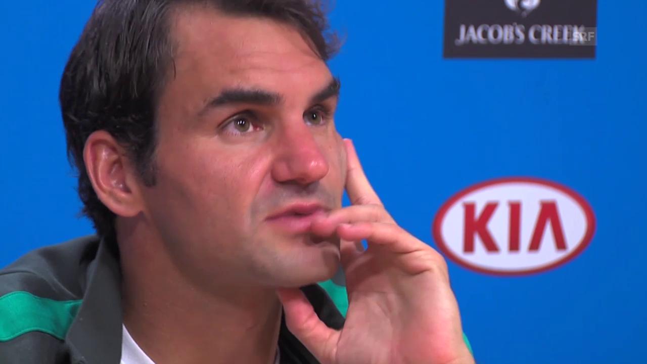 Federer über seinen Schuhverschleiss