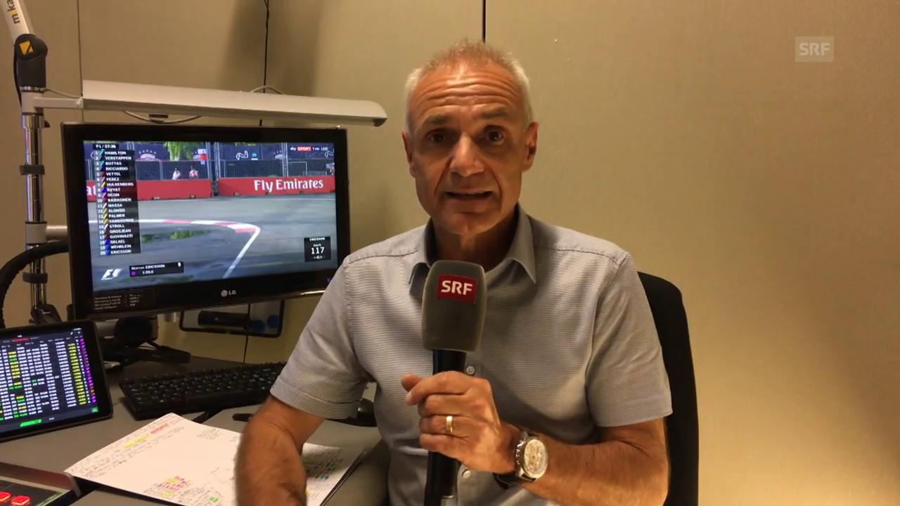 Michael Stäubles Einschätzung zum GP von Singapur