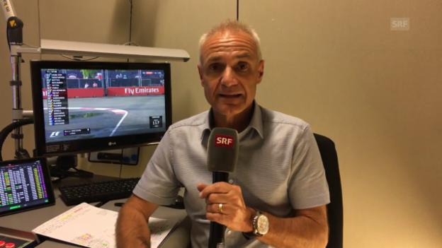 Video «Michael Stäubles Einschätzung zum GP von Singapur» abspielen
