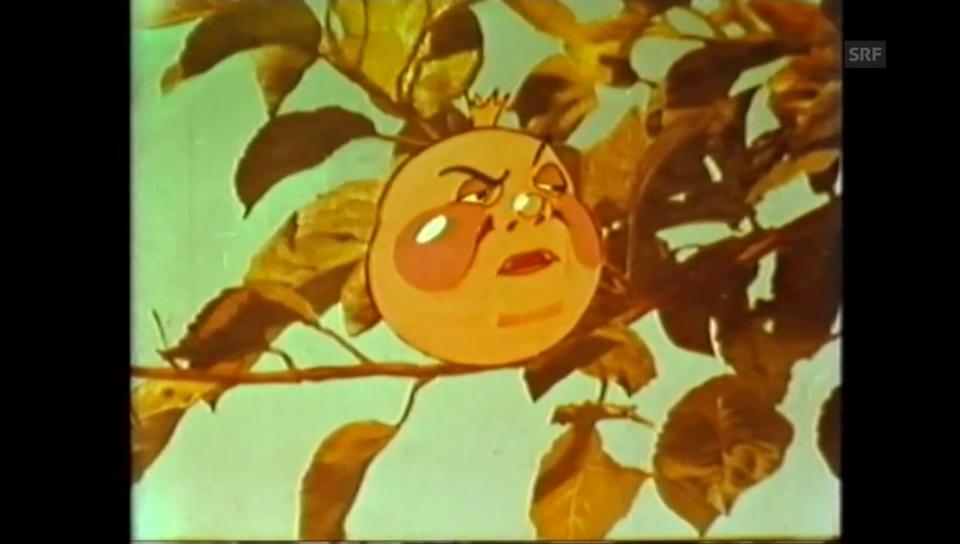 Ausschnitt «Die Apfeluhr» (Archiv für Agrargeschichte)