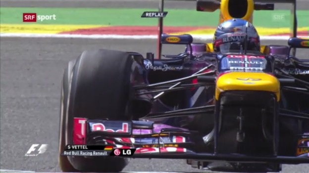 Video «Formel 1: GP von Belgien, 1. Training» abspielen