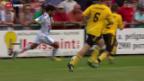 Video «Fussball: Cornol - Lausanne» abspielen