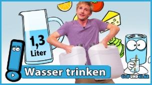 Video «Wieso muss der Mensch Wasser trinken?» abspielen