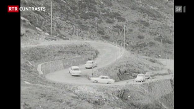 Laschar ir video ««Sas anc?» – Passar sur il pass: Sur dal San Bernardin ed il scumond dad ir cun auto en il Grischun!»