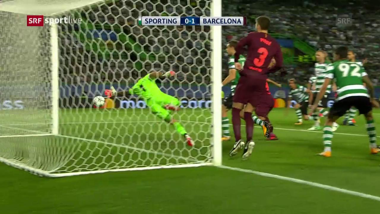Ein Eigentor bringt Barça den Sieg