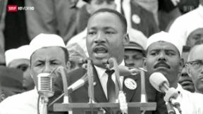 Video «50. Jahrestag der «I have a dream»-Rede» abspielen