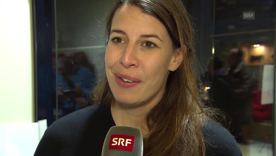 Dominique Gisin über ihr Studium