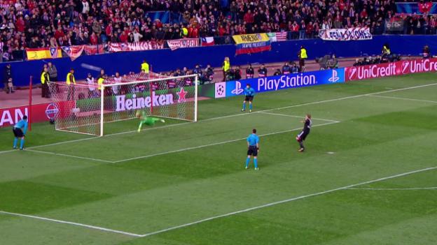 Video «Fussball: Champions League, Achtelfinal-Rückspiel Atletico - Leverkusen» abspielen
