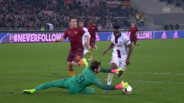 Video «Lyon bringt den Sieg über die Runden» abspielen