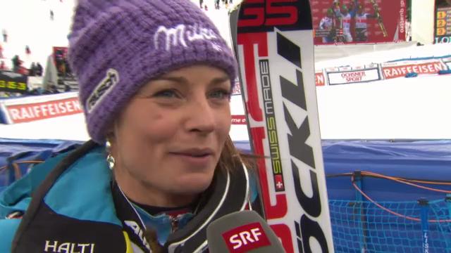 Tina Maze im Interview auf der Lenzerheide («sportlive»)