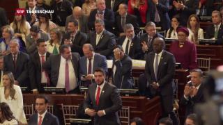 Video «FARC-Rebellen neu im kolumbianischen Parlament» abspielen