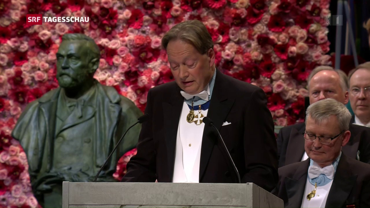 Nobelpreisverleihung ohne Dylan