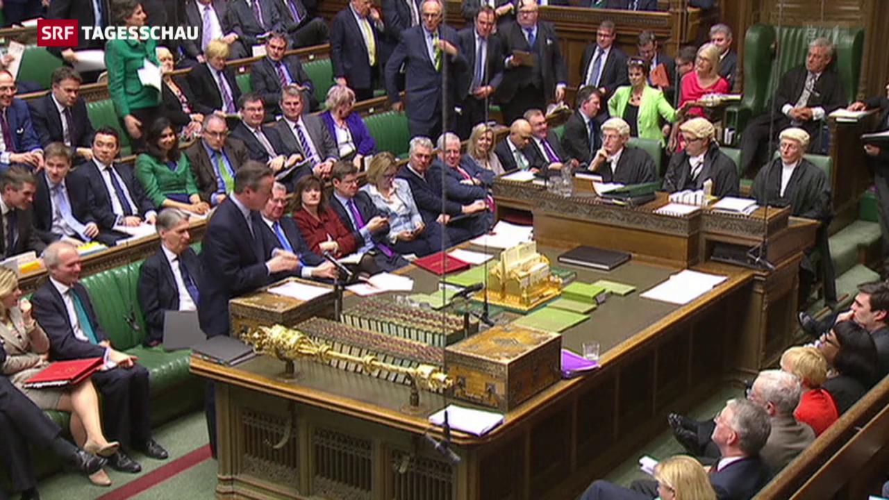 David Cameron verteidigt sich im Unterhaus