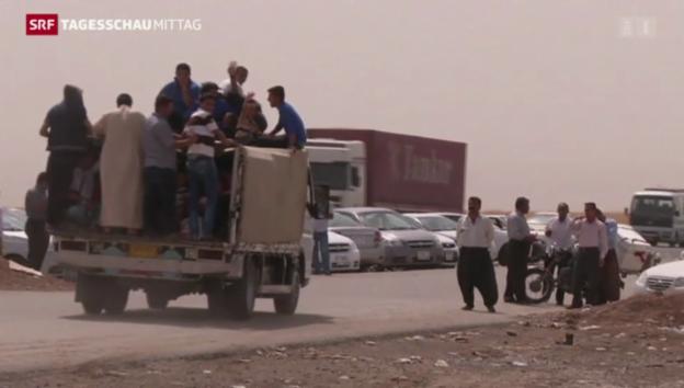 Video «Extremisten rücken im Irak weiter vor» abspielen