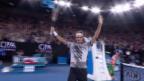 Video «Live-Highlights Federer - M.Zverev» abspielen