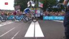 Video «Kittel an der Tour im Zehntausendstel-Glück» abspielen